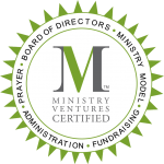 Personhood Alliance is Ministry Ventures certified for fundraising