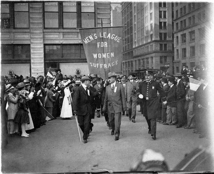 Personhood - The men of women's suffrage
