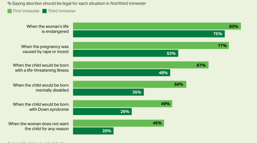 Personhood - Guttmacher report, Gallup poll, abortion