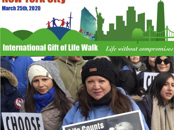 Personhood New York International Gift of Life Walk