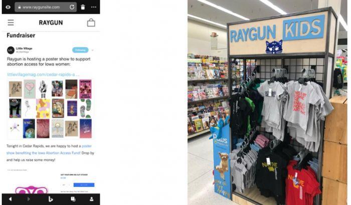 Personhood Iowa - Raygun, abortion, Hy-Vee